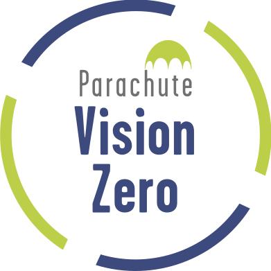 parachute vision zero logo