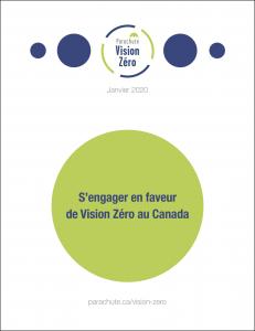 Cover of S'engager en faveur de Vision Zéro au Canada